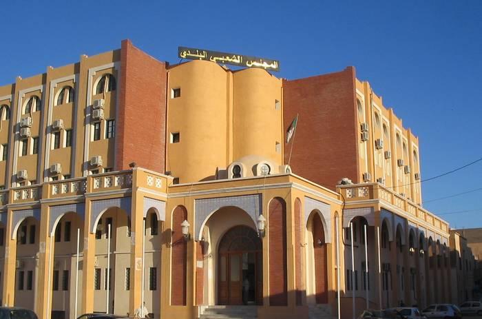 دار بلدية بسكرة