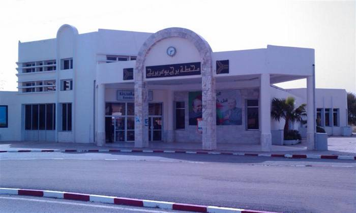محطة المسافرين بمدينة برج بوعريريج