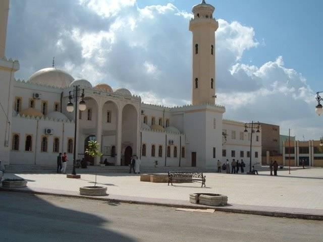 المسجد الكبير بمدينة تيسمسيلت
